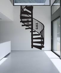 vinyl wall decal sticker spiral stairs os mb607