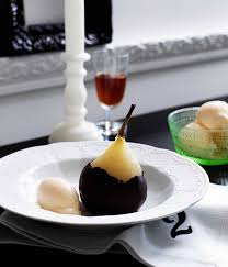gourmet pears poached pears with gorgonzola dolcelatte gelato gourmet traveller