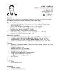 resume objective statements customer service objective flight attendant resume objective flight attendant resume objective with pictures large size