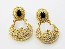 beautiful gold earrings new earrings collections by mariam sikandar fashion today