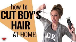 how to cut boy u0027s hair from home jordan from millennial moms