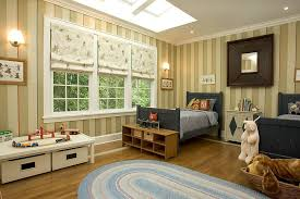 striped walls classic boys bedroom with striped walls and skylight eva furniture
