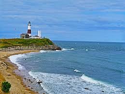 lighthouses montauk light house new york waves lighthouse beach