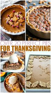 20 pies for thanksgiving mamanista
