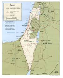Blank Map Of Israel Maps Of Israel