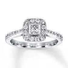 kay jewelers black friday kayoutlet diamond engagement ring 3 4 ct tw princess cut 14k