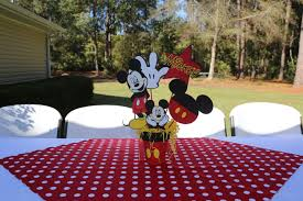 mickey mouse clubhouse centerpieces mickey mouse centerpiece day party decorations tierra