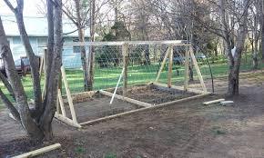 my cattle panel hoop coop backyard chickens