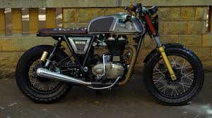 modified bullet brute modified continental gt by bulleteer customs 350cc com