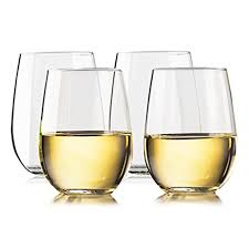 wine glasses unbreakable stemless wine glasses 100 tritan