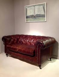 Tufted Chesterfield Sofa by An English Brown Leather And Button Tufted Chesterfield Sofa 04