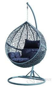 Trully Outdoor Wicker Swing Chair by