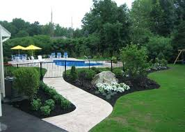 Above Ground Pool Design Ideas Swimming Pool Gardens Swimming Pool Landscape Design Ideas Above