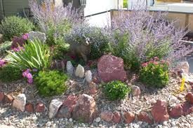 Rock Gardens On Slopes Cheyenne Landscaping And Wyoming Landscaping Company Capital City