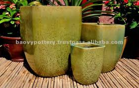 new design outdoor ceramic planter two colors buy outdoor glazed