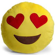 Pink Round Cushion Heart Pillow Ebay