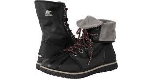 womens sorel boots sale canada lyst sorel cozy 1964 in black