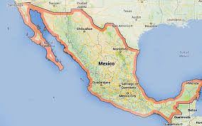 map central mexico map central mexico major tourist attractions maps
