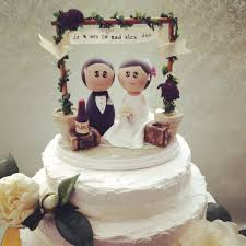 wedding cakes ideas cute vintage wedding cake topper etsy