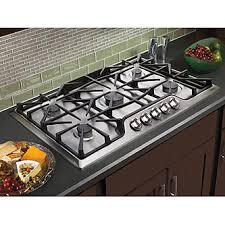 Gas Countertop Range Kitchen Cooktops Kenmore 32553 36