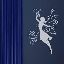 fairy wall sticker girls room walls stickers
