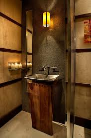 Contemporary Pedestal Sinks Bathrooms With Pedestal Sinks Powder Room Contemporary With