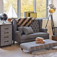 Chesterfield Sofa Showroom Silverdale Two Seater Winged Sofa Be Fabulous