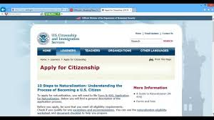 how to apply for u s citizenship part 1 youtube