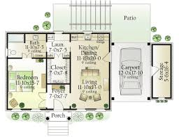 simple one bedroom house plans best 25 one bedroom house ideas on one bedroom house