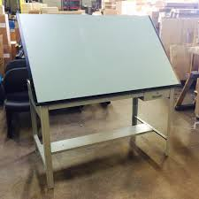 Wooden Drafting Tables by Used Drafting Tables Arthur P O U0027hara