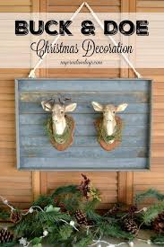 Deer Christmas Decorations Funny by 346 Best Christmas Decorating Ideas Images On Pinterest