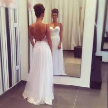 simple open back wedding dresses dress prom backless gown gown white backless dress