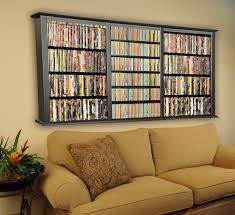 Media Storage Shelves by Magnificent Dvd Shelves Ideas With Brown Wooden Tall Storage And