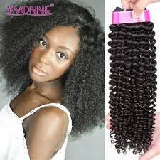 Natural Virgin Hair Extensions by Yvonne Brazilian Curly Virgin Hair 3pcs Lot Brazilian Hair