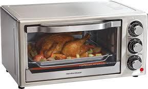 Black Decker 6 Slice Toaster Oven Hamilton Beach 6 Slice Toaster Oven Silver 31511 Best Buy