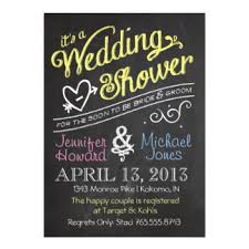 co ed bridal shower couples shower invitations announcements zazzle