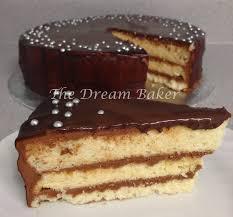 the dream baker vanilla chiffon cake with nutella buttercream