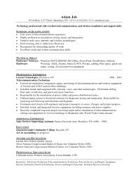 100 mechanic resume examples office technician resume sample