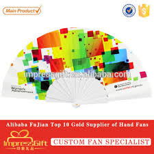 custom fans custom plastic held folding fans for event view plastic