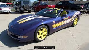 1998 corvette pace car for sale 1998 chevrolet corvette indianapolis 500 pace car start up