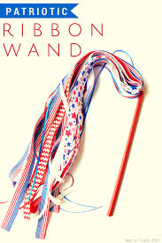 patriotic ribbon patriotic ribbon wand