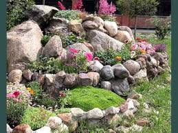 rock landscape design ideas landscaping rocks and plants youtube