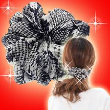 hair scrunchies bijinkoeido rakuten global market casual beauty hair scrunchie