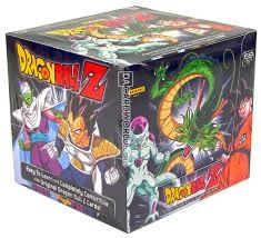 panini dragon ball z starter deck box da card world