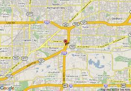 hurst map map of americas best value inn suites hurst