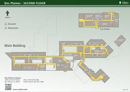 Uri Campus Map Campus Maps Oakton Community College