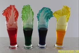 impressive idea food coloring experiment crawling colors a fun