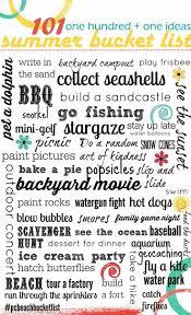 summertime bucket list 101 ideas for summer fun for kids free