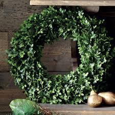 faux box wreath oka