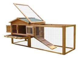 Double Decker Rabbit Hutch Bunny Business Double Decker Rabbit Hutch With Play Area